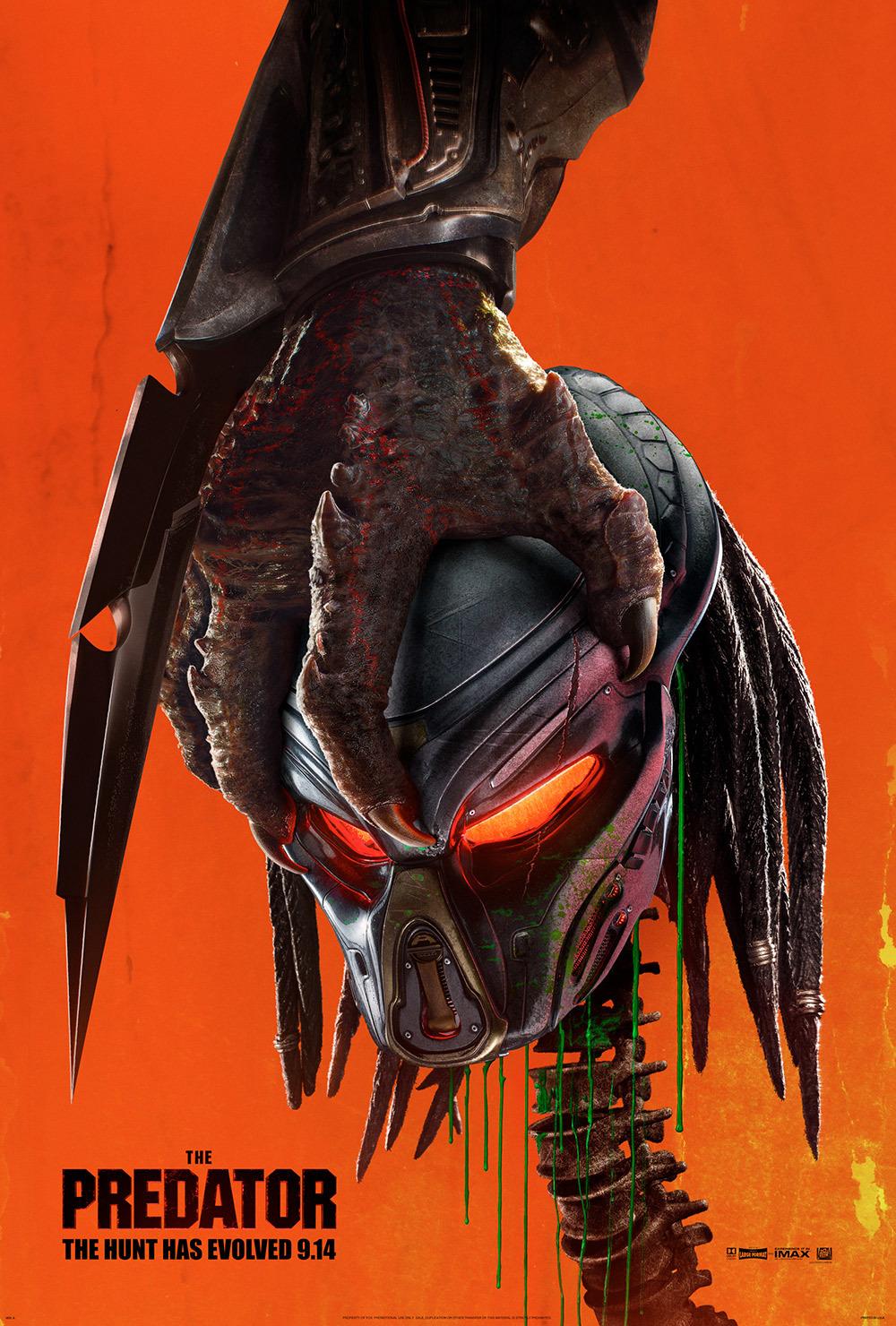 Photo of «The Predator» lidera las taquillas de Norteamérica