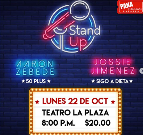 Photo of En Teatro La PLaza «Stand Up Show»