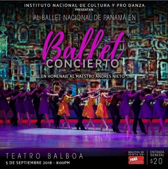 Photo of Ballet Concierto en Panamá