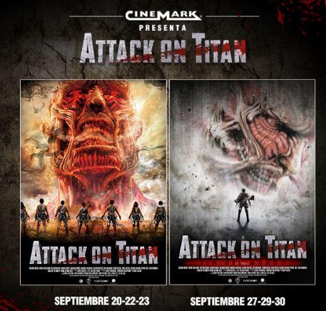 Photo of Funciones especiales en Cinemark de 'Attack on Titan'