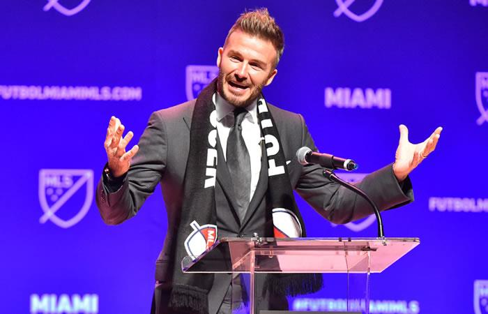 Photo of David Beckham revela el nombre de su equipo