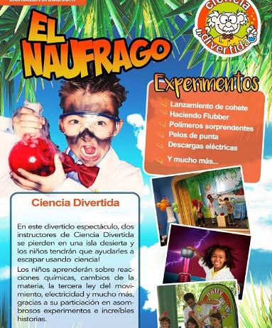 Photo of Teatro el Ángel te presenta 'Ciencias Divertidas'