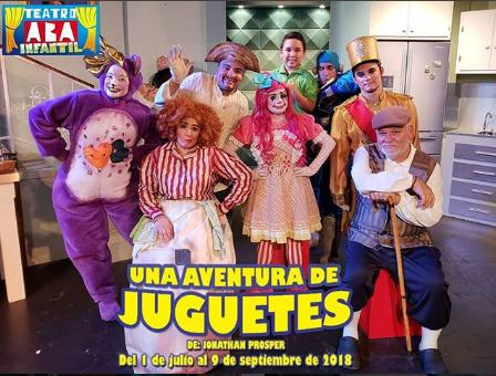 Photo of Mañana última función la obra infantil 'Una aventura de juguetes'