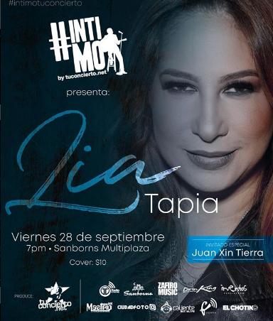 Photo of #Intimotuconcierto con Lia Tapia