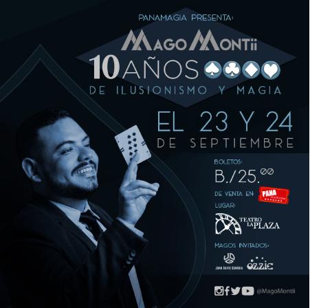 Photo of Mago Montii se presentara en Panamagia