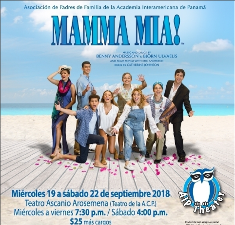 Photo of A solo 8 días para El musical MAMMA MIA!! en Panamá
