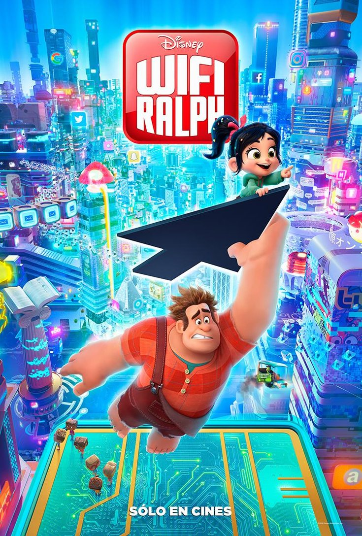 Photo of Lanzan tráiler oficial de 'WIFI RALPH'