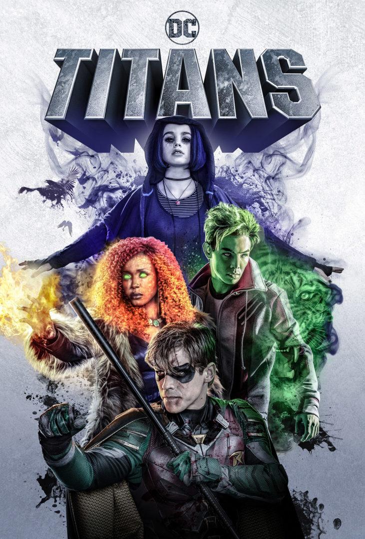 Photo of Warner Bros revela el primer póster oficial de la nueva serie «Titans»