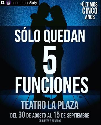 Photo of Últimas 5 funciones para el musical 'Los Últimos Cinco Años'