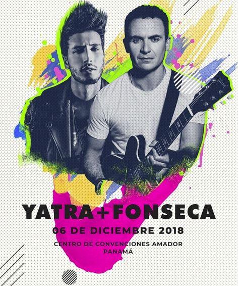Photo of Boletos a la venta para concierto de Sebastián Yatra y Fonseca en Panamá