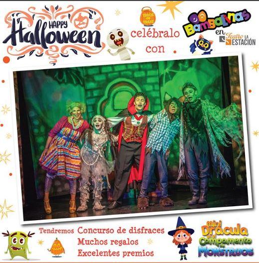 Photo of Happy Halloween con Bambalinas en Teatro la Estación