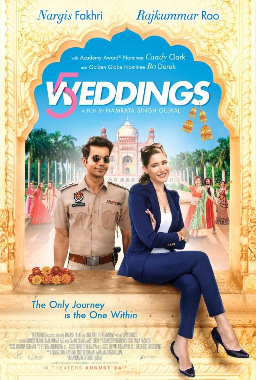 Photo of '5 weddings' en Cinemark