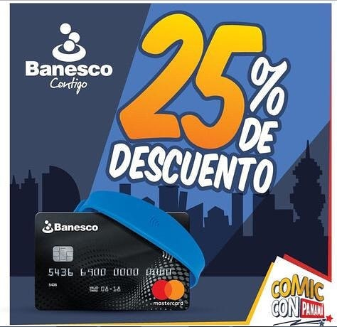 Photo of Descuento al 25% para Comic Con Panamá 2018