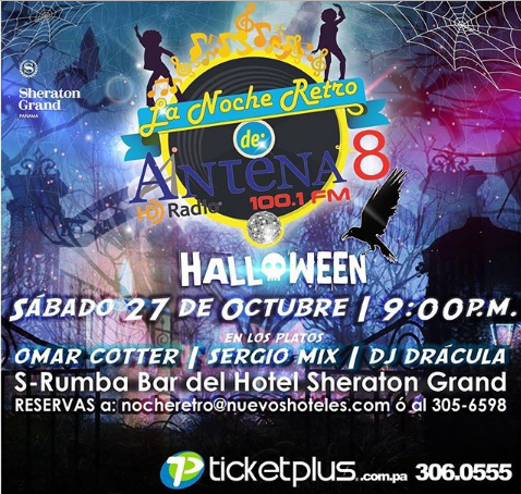 Photo of La fiesta de Halloween en la noche retro de Antena 8