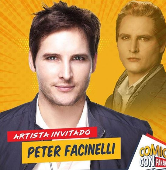Photo of Peter Facinelli como artista invitado en el Comic Con Panamá