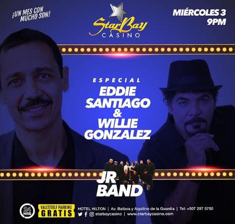 Photo of El súper especial a Eddie Santiago y Willie González en StarBay Casino