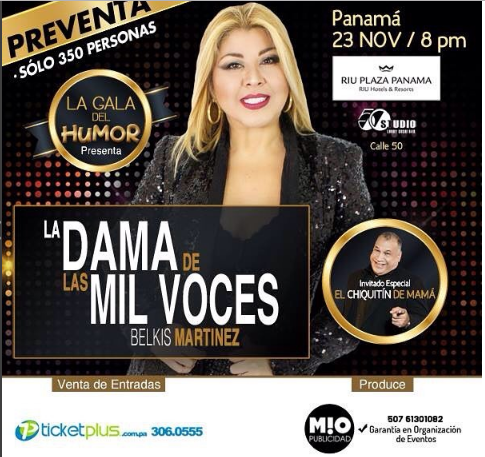 Photo of La Dama de mil voces en Panamá
