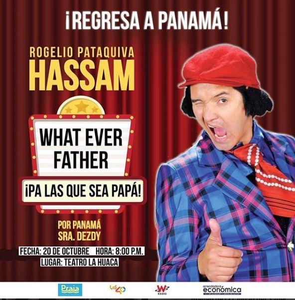 Photo of Llega a Panamá el show de 'Hassam'