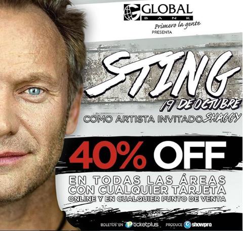 """Photo of Concierto de """"Sting & Shaggy"""" Panamá"""