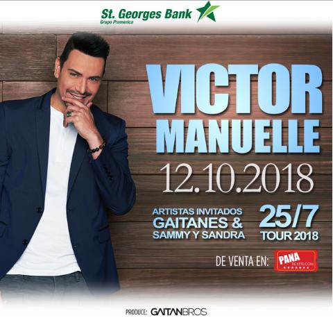 Photo of Esta noche Víctor Manuelle concierto en Panamá