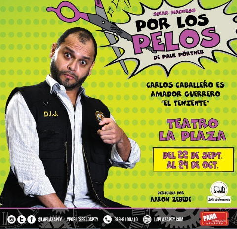Photo of Obra 'Por Los Pelos' en Teatro la Plaza