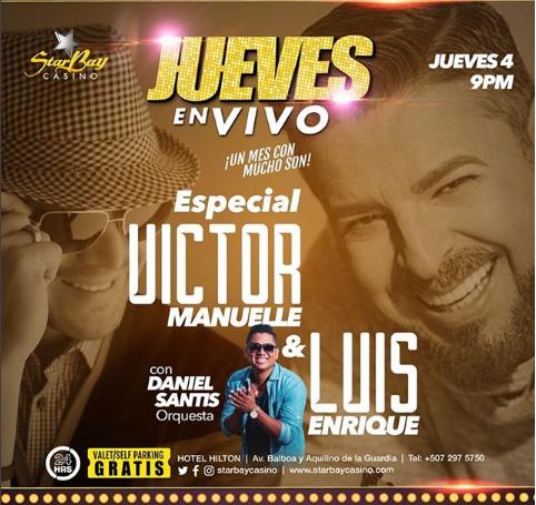 Photo of Especial de Víctor Manuelle y Luis Enrique en StarBay Casino