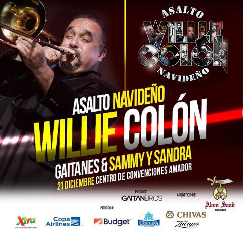 Photo of Concierto de Willie Colón en Panamá