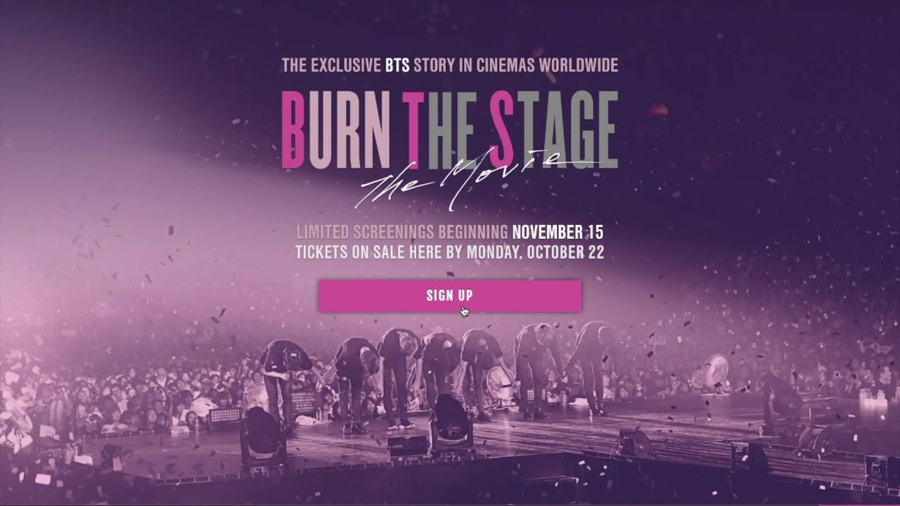 Photo of Jueves de estreno en Cinemark «Burn the Stage: The Movie «