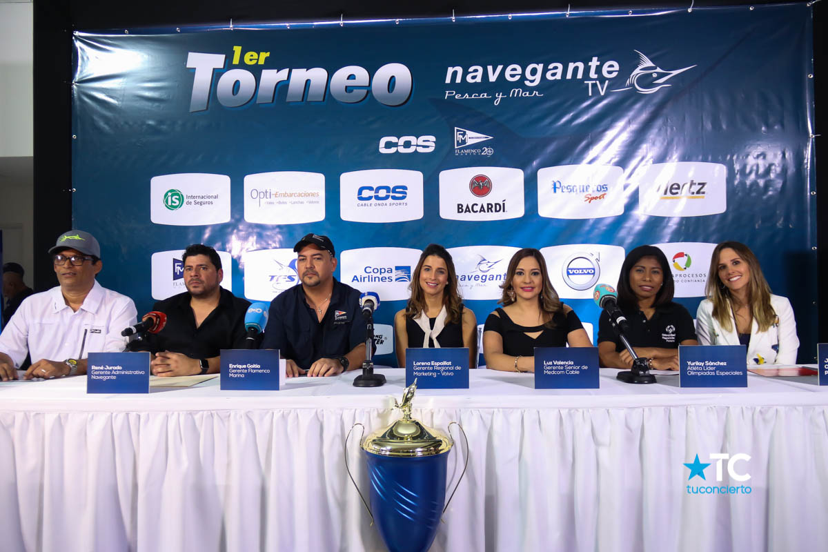 Photo of Conferencia de prensa del primer torneo de pesca Navegante TV
