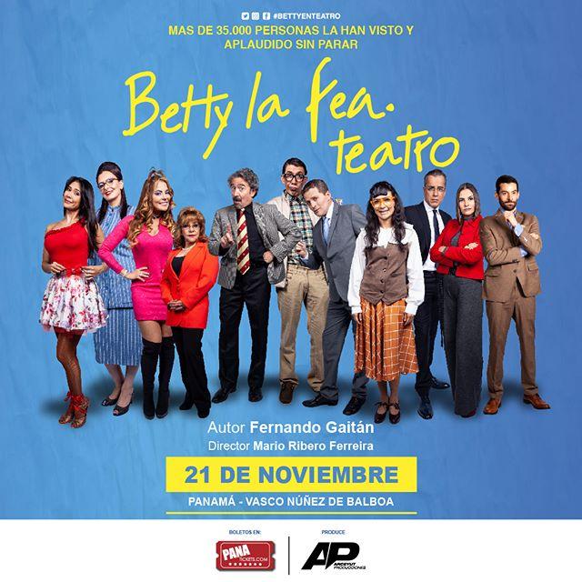 "Photo of ""Betty La Fea"" teatro llega a Panamá"