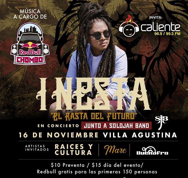 Photo of I Nesta «El Rasta del Futuro» y SoldJah Band en Concierto