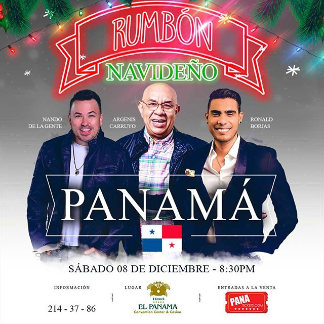 Photo of Rumbón Navideño en Panamá