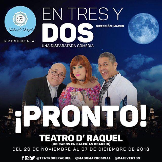 Photo of Teatro D'Raquel presenta 'En Tres y Dos'