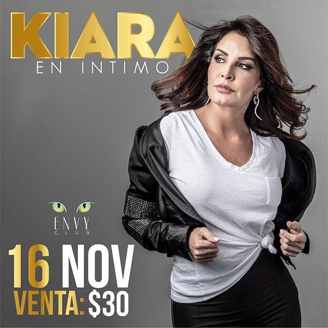 Photo of Kiara brindará un show íntimo en Panamá