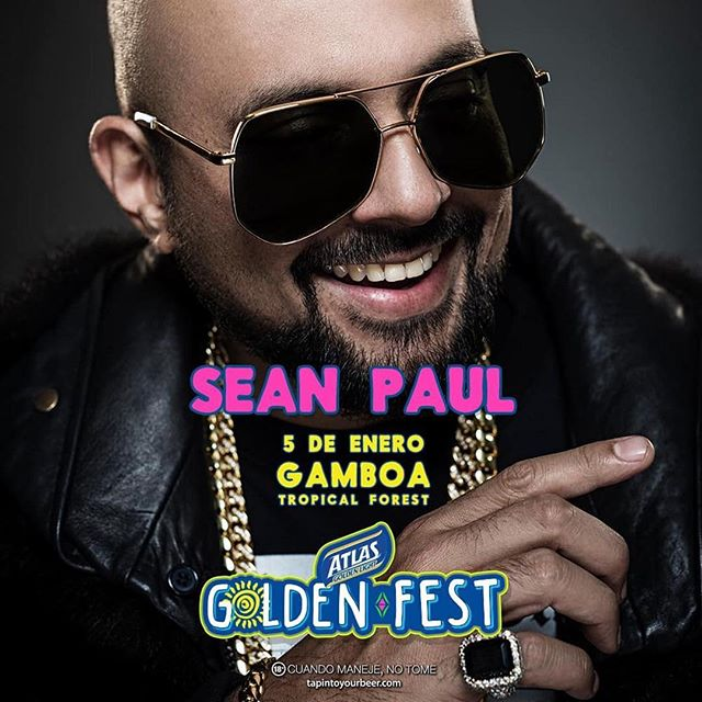 Photo of Sean Paul en Atlas Golden Fest