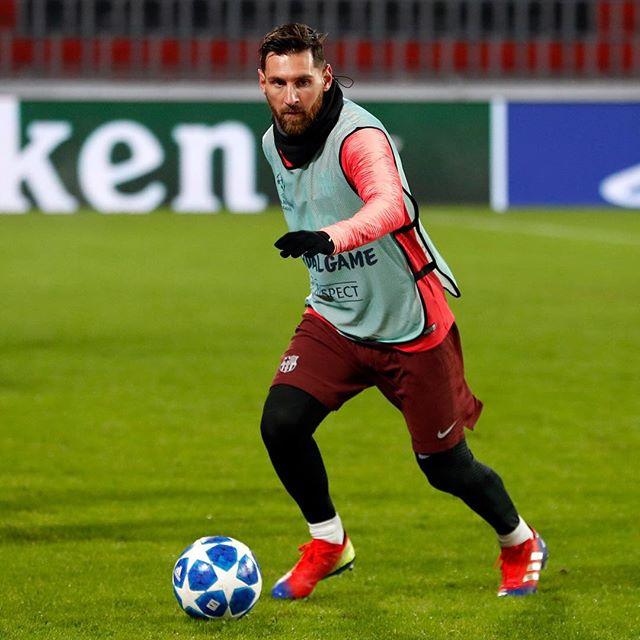 Photo of Leo Messi haciendo historia