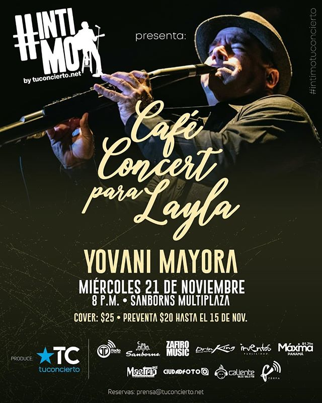 Photo of Todo listo para 'Café Concert para Layla'