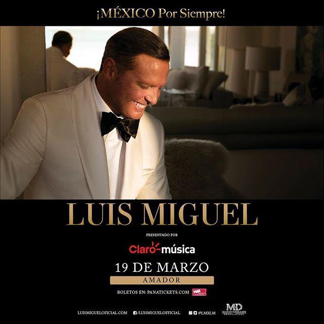 Photo of Luis Miguel en concierto en Panamá