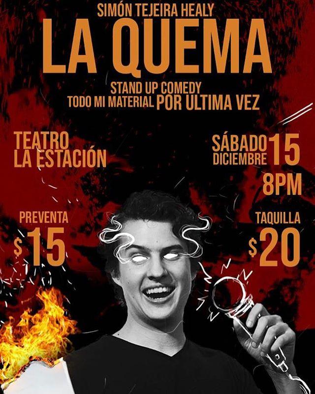 Photo of Simon Tejeira Healy presenta 'La Quema'