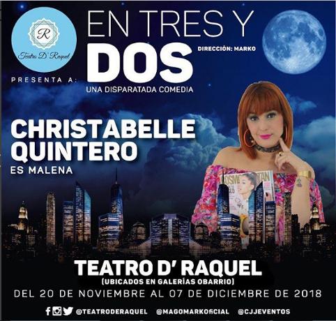 Photo of Estreno de la obra 'En Tres y Dos' en Teatro D'Raquel