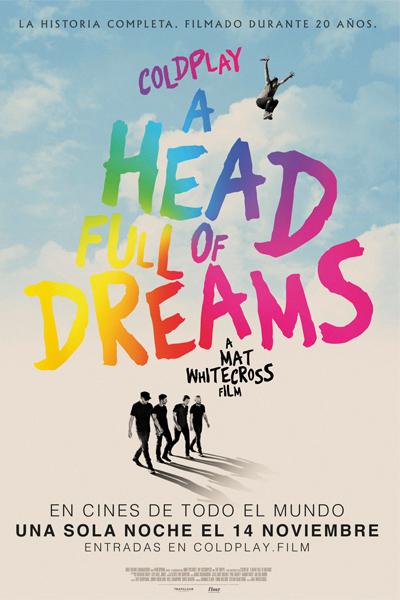 Photo of Gran estreno de 'Coldplay: A Head Full of Dreams'