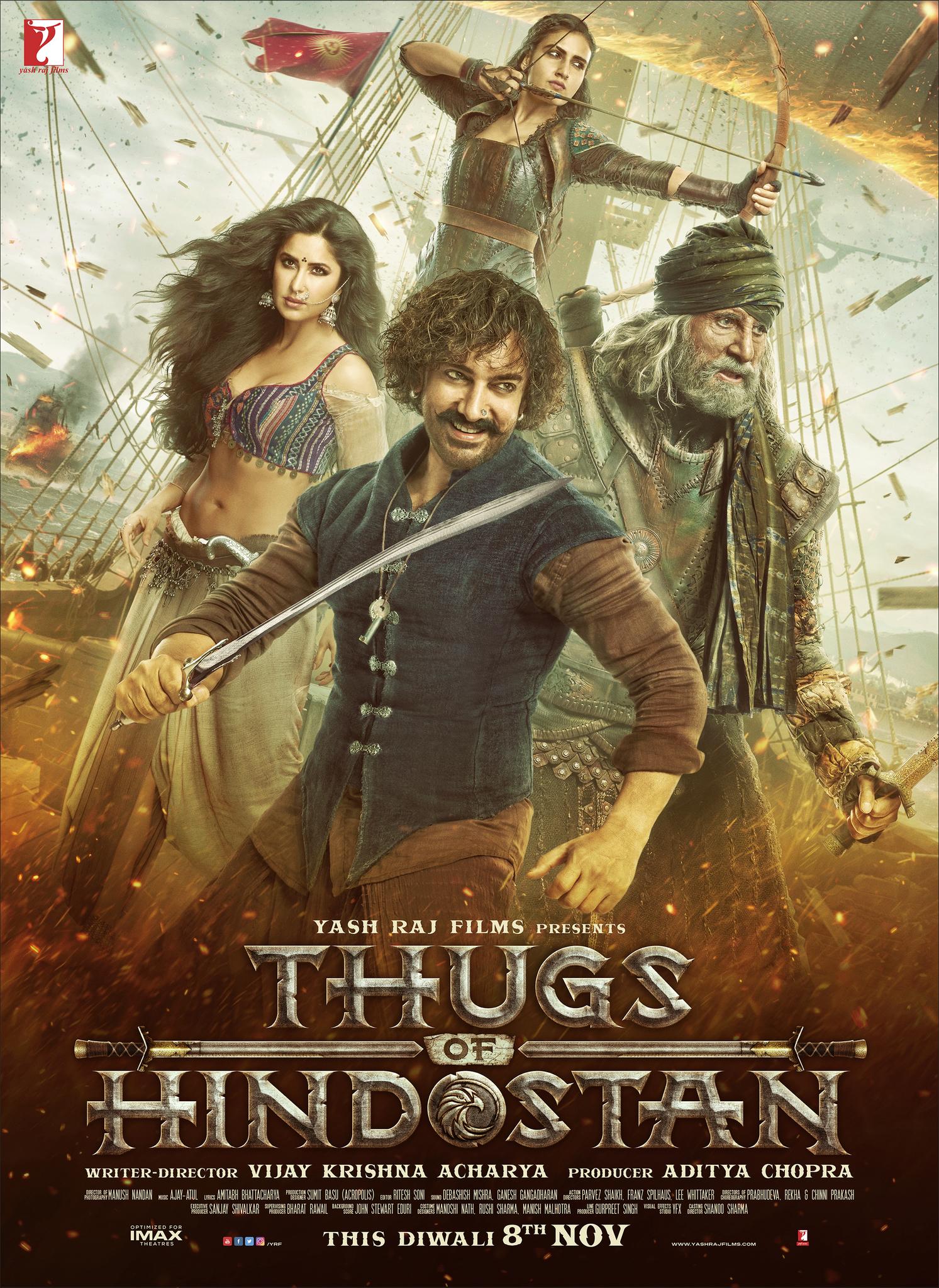 Photo of Estreno en Cinemark con «Thugs of Hindostan»