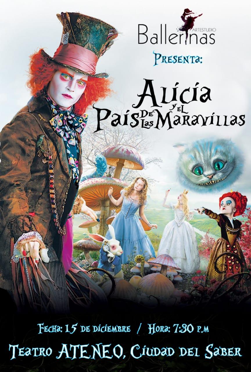 Photo of Ballerinas Artestudio presenta 'Alicia en el país de las maravillas'