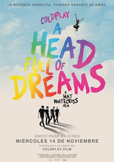 Photo of Pre venta para 'Coldplay: A Head Full of Dreams'