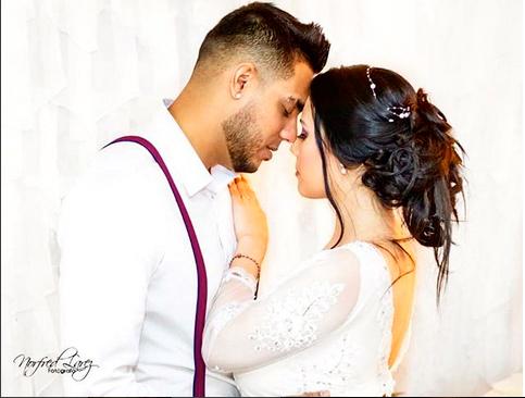 Photo of Ronald Borjas se casó a escondidas