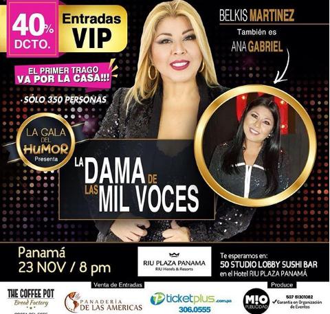 Photo of Descuento al 40% para «La Dama de mil voces» en Panamá