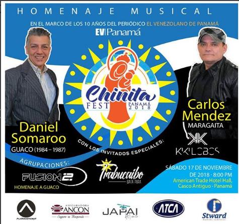 Photo of Esta noche Chinita Fest 2018 en Panamá