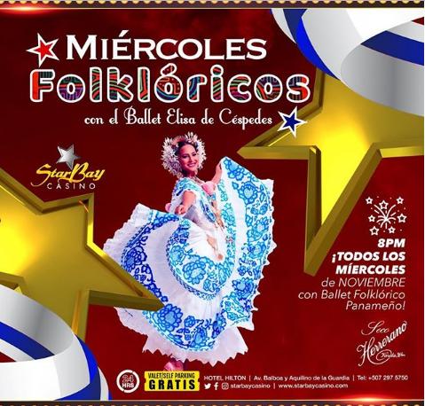 Photo of Esta noche en StarBay Casino Miércoles Folclóricos