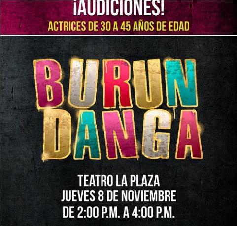 "Photo of Audiciones para la comedia ""Burundanga"" En Teatro La Plaza"