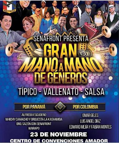 """Photo of Llego la noche de """"Gran Mano a Mano de géneros"""" en Panamá"""